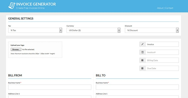 Free Invoice Creator For Freelancers And Small Business Owners - Invoice generator for small business